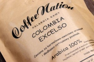 Kawa ziarnista COLOMBIA EXCELSO